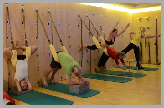 The Great Yoga Wall in Garrel